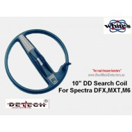 "10"" DD Search Coil For White's Spectra DFX,MXT,M6."