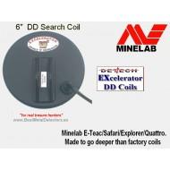 "Detech 6"" DD Search Coil for Minelab E-Trac/Safari/Explorer"