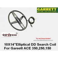 "Garrett-10"" x 14""(25.4 см х 35.6 см)DD Elliptical ACE SERIES"