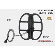 Golden Mask Search Coil 9x10'' -18Khz