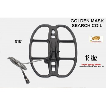 Golden Mask Search Coils 10x12'' -18Khz